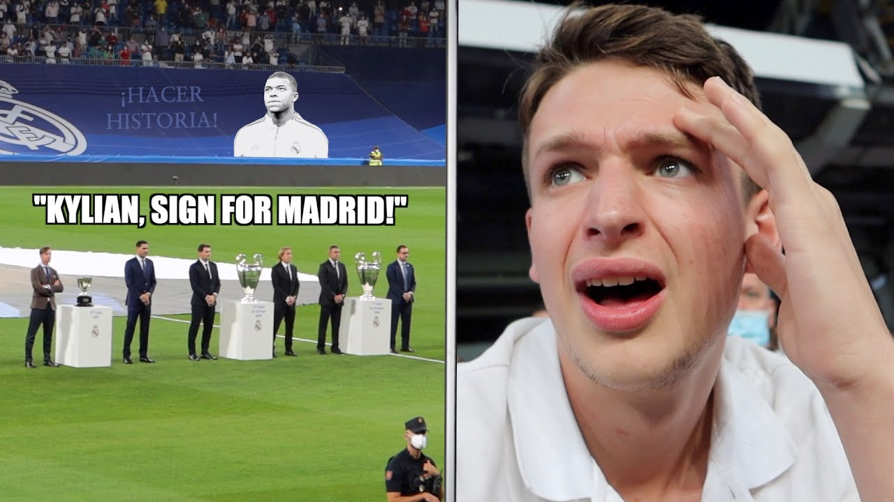 Fan Steals UCL Trophy & 7 Goal THRILLER at REAL MADRID
