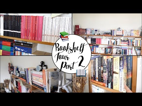 BOOKSHELF TOUR | PART TWO 📚