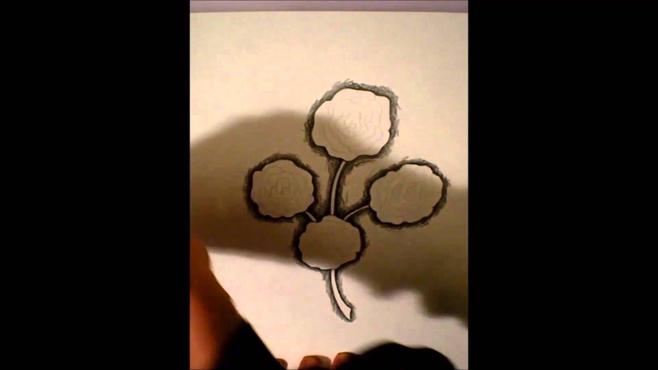 Rosenstrauß Tattoo Vorlage Selber Zeichnen Youtube