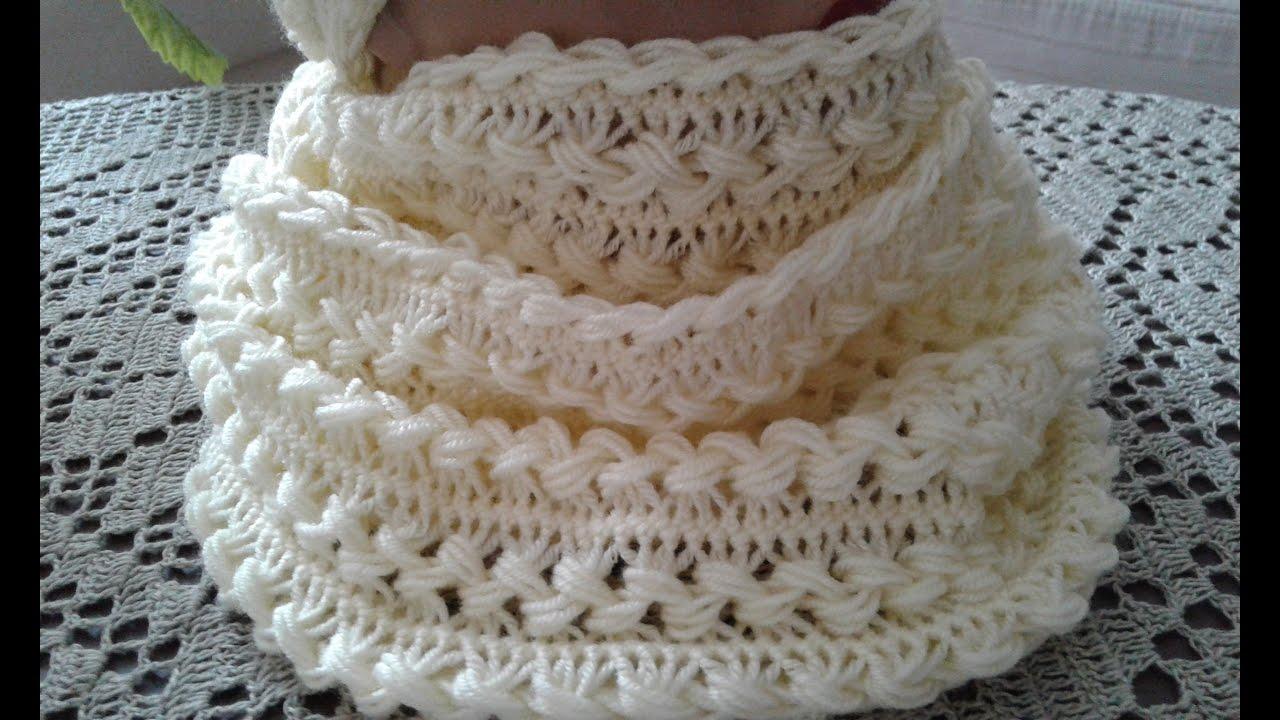 вязание на вилке снуд часть 4 Womens Hats Knitting сrochet