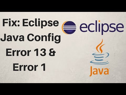 Eclipse Error Could not Open jvm.cfg Error 13 Error 1 [Updated 2017]