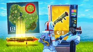 Secret Overpowered Vending Machine Location in Fortnite Battle Royale