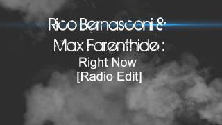 Max Farenthide feat. Rico Bernasconi - Right-Now (Na-Na-Na) +download link