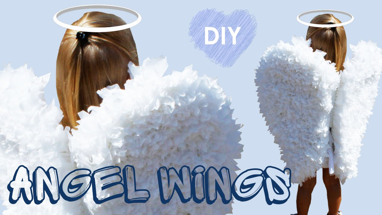How to angel make wings to wear
