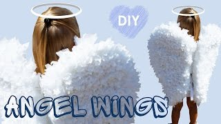 DIY Angel Wings | Paper craft | Angel costume for the holiday