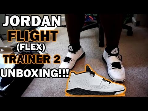 Gimnasio aburrido Fuera  JORDAN FLIGHT FLEX TRAINER 2 UNBOXING!!! - YouTube
