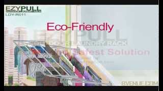 Ezypull Multi Level Outdoor Laundry Rack // For Up-grading, New Hdb & Private Develop Apartment