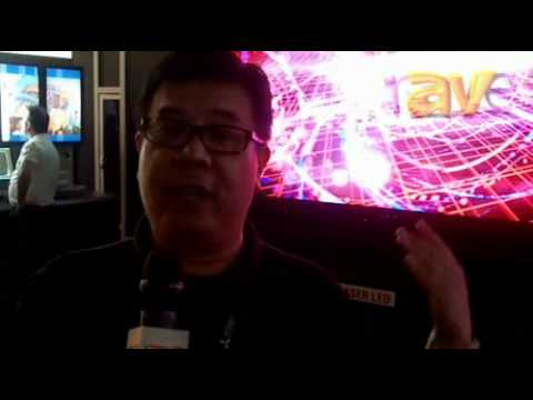InfoComm 2012: Mitsubishi Electric Compares the LED TV and the Laser-Backed LED TV