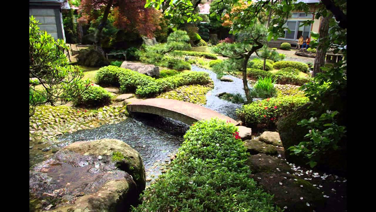 Small japanese home garden design ideas - YouTube