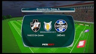 Vasco da Gama x Grêmio ↱[ Brasileirão Série A ]↰ PES 2017 BMPES