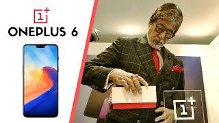 Amitabh Bachchan Unboxing ONEPLUS 6 #1 #oneplus6