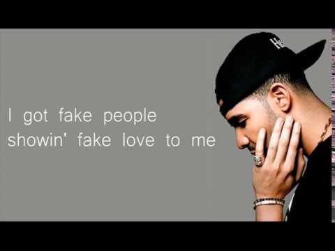 Drake -  Fake Love Lyrics (Official)