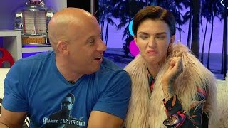 Vin Diesel & Ruby Rose Do BEAN BOOZLED CHALLENGE!