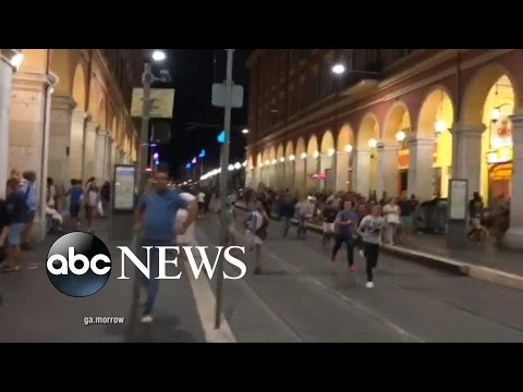 Truck Plows Through Crowd in Nice, France