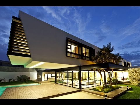 Contemporary House Design with A Sunning Cantilever Box Built on A on incredible house design, modern lake house designs, modern cantilevered house, cantilever roof design, modern house in mexico, bungalow flat roof houses design, modern home narrow lot house designs, cantilever steel beam design,