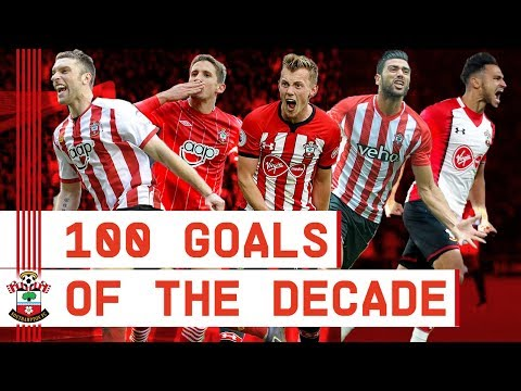 100 GOALS OF THE DECADE | The best Southampton goals from 2010 to 2019