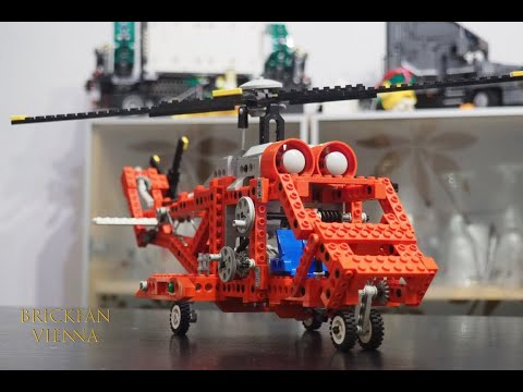 War Technic vor 30 Jahren besser? - LEGO® Technic Set 8856 - Whirlwind Rescue