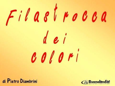 FILASTROCCA DEI COLORI - Canzoni per bambini di Pietro Diambrini