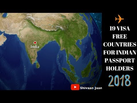NO VISA needed For Indian Tourists in these Countries | VISA FREE
