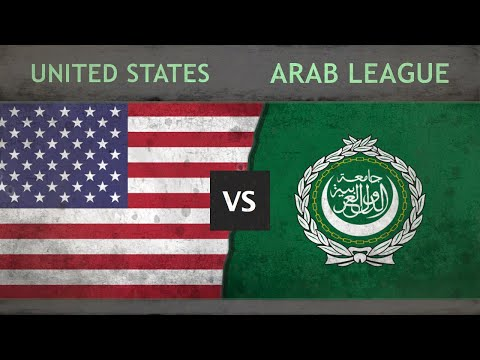 UNITED STATES vs ARAB LEAGUE - Military Power Comparison ✪ 2018