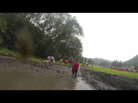 Warrior Dash - Minnesota 2014 - Muddy Mayhem + Finish Line