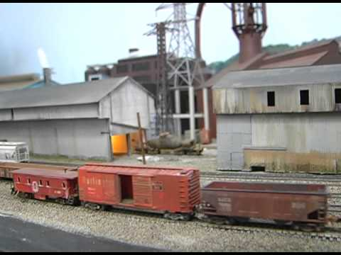 N Scale Steel Mill Train Layout! Union Railroad – Great Model Railroads