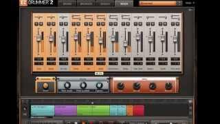 EZ Drummer 2 Modern Kit Mixer Presets Demo
