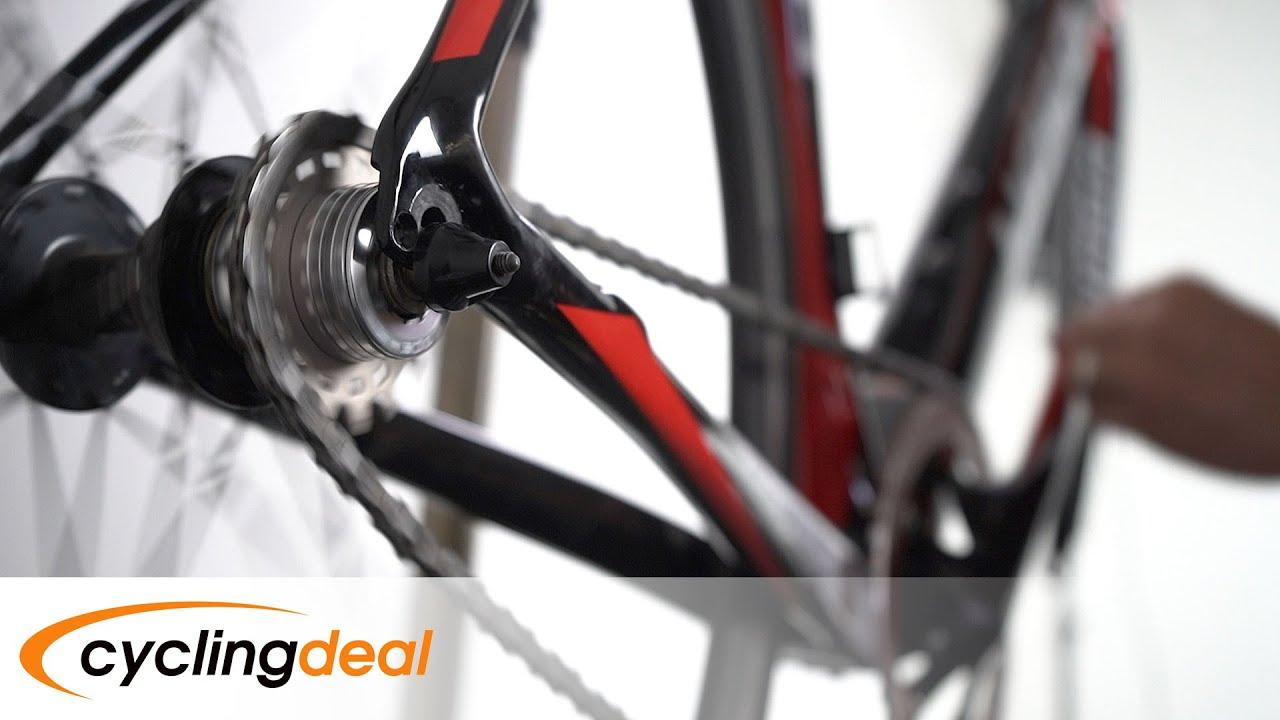 Cyclingdeal Conversion Kit Fixie Bike Single Speed Shimano Adaptor by