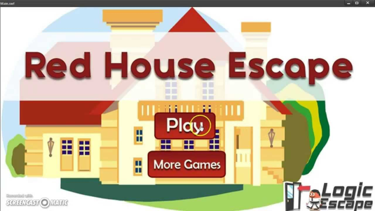 Red house escape walkthrough logic escape youtube for Minimalistic house escape 5 walkthrough