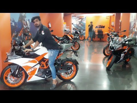 NEW KTM BIKES AT BEST PRICE | BUY RACING KTM RC AND KTM DUKE IN DELHI INDIA | KTM SHOWROOM