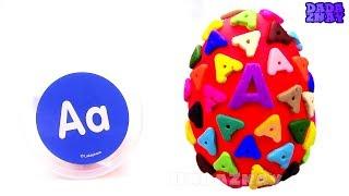 Учим букву А Учим английский алфавит Орфографические слова начинающиеся с буквы A A для детей Урок 1