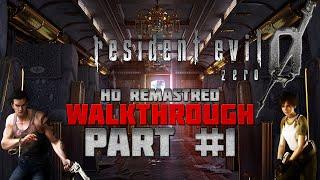 Resident Evil 0 (Zero) HD Remaster - Walkthrough - Hard - PC 1080p/60fps - Part 1 - Deadly Train