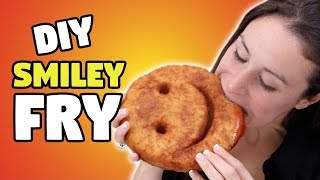 DIY GIANT SMILEY FRY