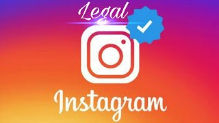 LEGAL way to get Verified On instagram (No instagram++) Real Method! NO FAKE