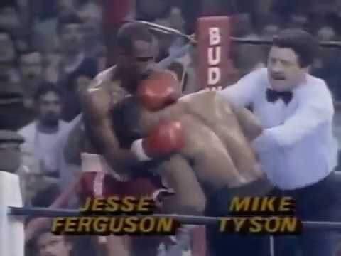 Mike Tyson First Televised Fight RPI Troy, NY