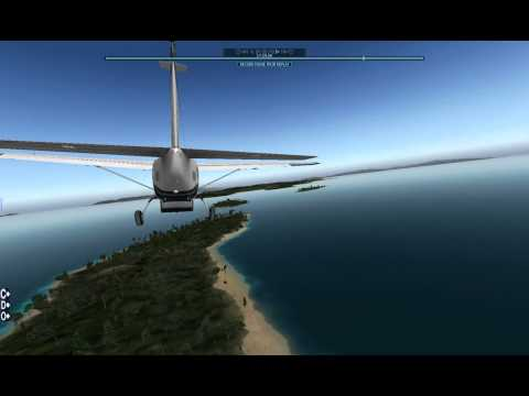 Beachside landings - Cessna 208B Grand Caravan [X-Plane 10]