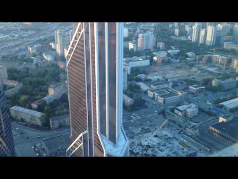 Москва сити. Башня Федерация. Moscow City. Federation Tower.