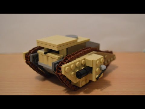 Lego WW1: Mark 1 Tank Tutorial