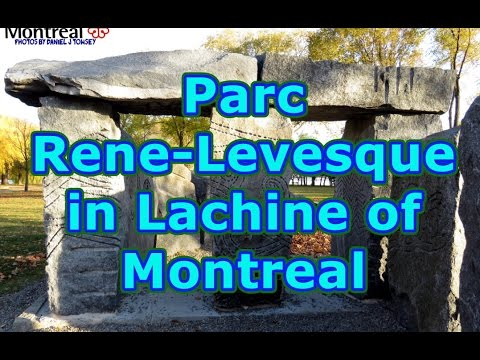 Parc Rene Levesque in Lachine of Montreal