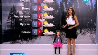 Времето днес с Вилерже и Никол Станкулова по Нова Телевизия / 31.03.2014г
