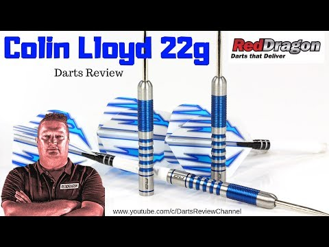 Red Dragon Colin Lloyd 22g darts review