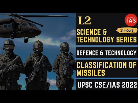 Science & Technology | L2 | Classification of Missiles | Cruise and Ballistic Missile