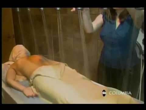 Asian spa table shower
