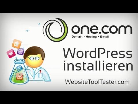 WordPress günstig hosten und installieren mit One.com - Tutorial