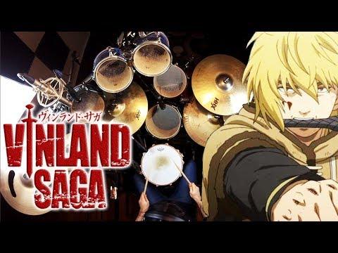 Kin | Vinland Saga OP | MUKANJYO | Drum Cover (Studio Quality)