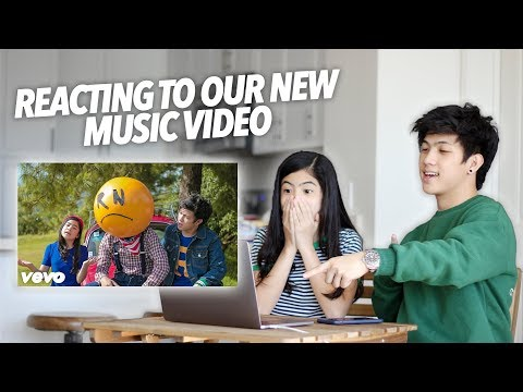 Reacting To Our New Song Great Day | Ranz And Niana