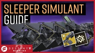 Destiny 2 - Sleeper Simulant Guide & Review