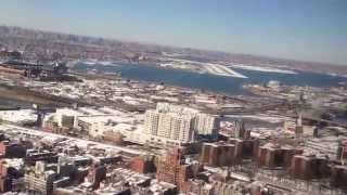 Landing At Laguardia Airport