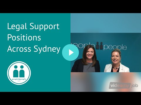 Legal Support Positions Across Sydney