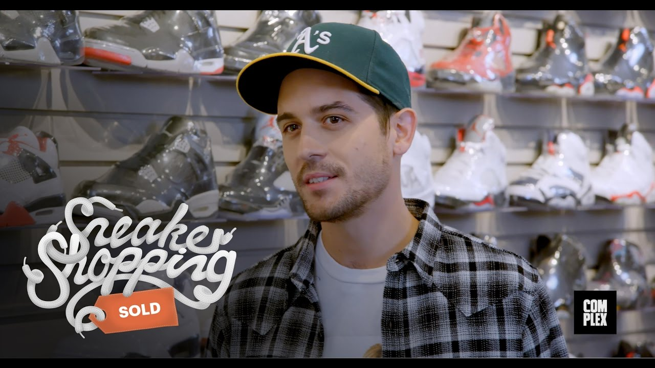 f5f4bfc1b00c G-Eazy Goes Sneaker Shopping with Complex - YouTube